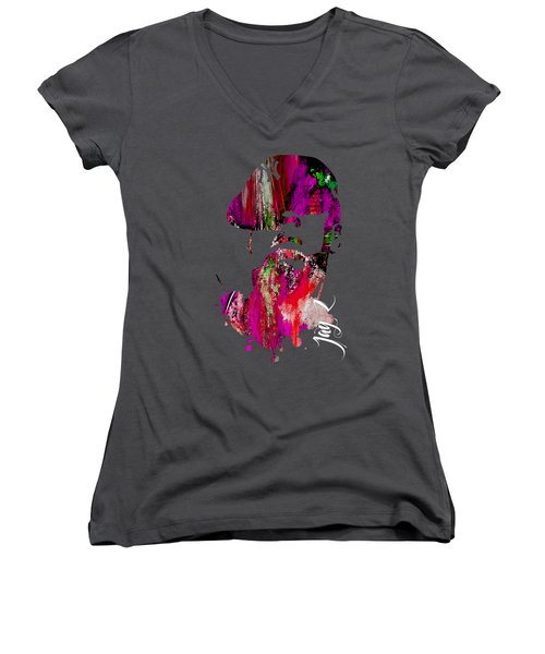 Jay Z Collection Women's V-Neck T-Shirt