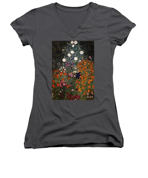 Gustav Klimt    Women's V-Neck T-Shirt
