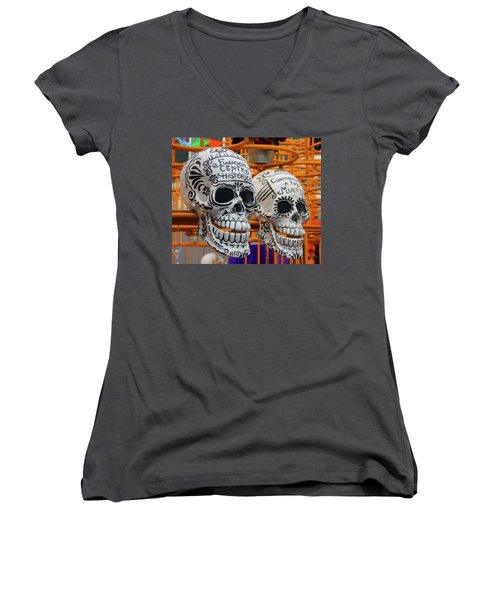 Mexico City Women's V-Neck (Athletic Fit)