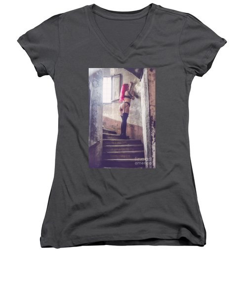 Pretty Things Are Going To Hell Women's V-Neck