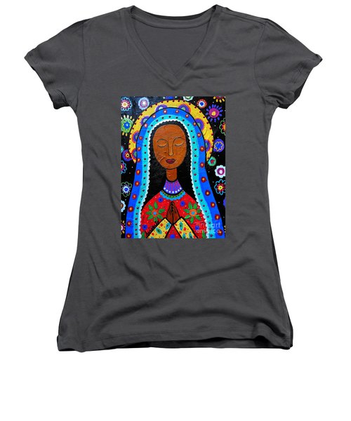 Our Lady Of Guadalupe Women's V-Neck