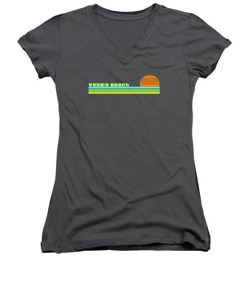 Venice Beach Women's V-Neck T-Shirt
