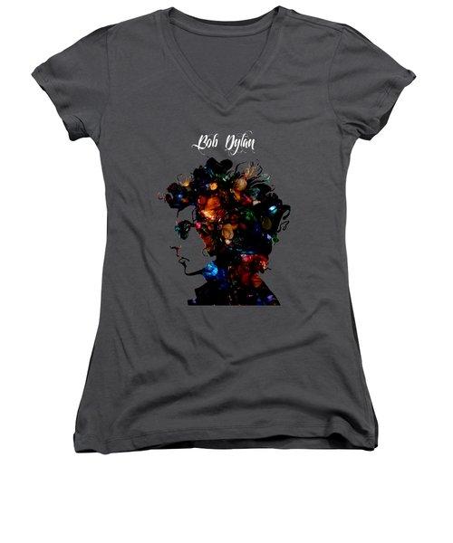 Bob Dylan Collection Women's V-Neck T-Shirt