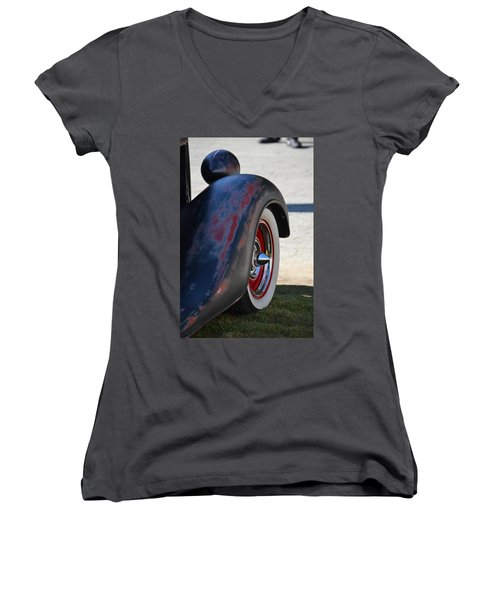 Classic Ford Pickup Women's V-Neck (Athletic Fit)