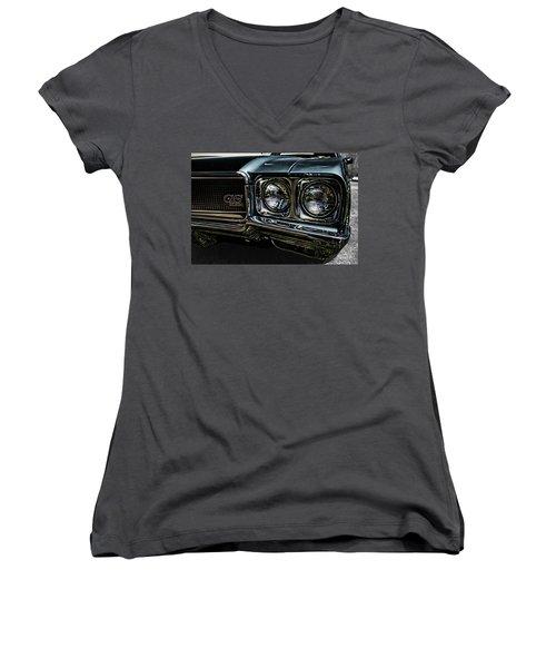 '70 Buick Gs Women's V-Neck