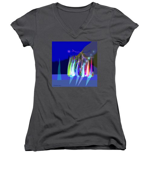 720 - Sailing A Women's V-Neck (Athletic Fit)