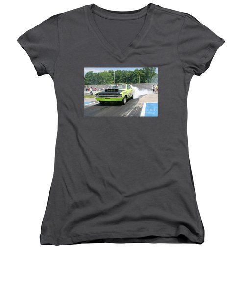 8652 06-15-2015 Esta Safety Park Women's V-Neck (Athletic Fit)