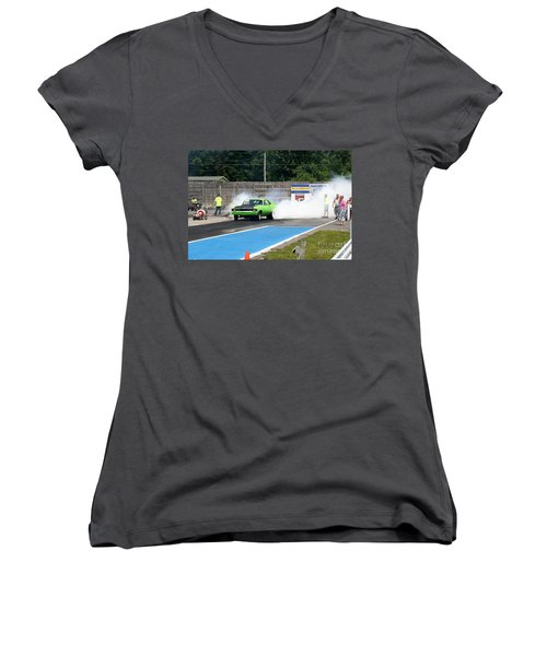 8840 06-15-2015 Esta Safety Park Women's V-Neck (Athletic Fit)
