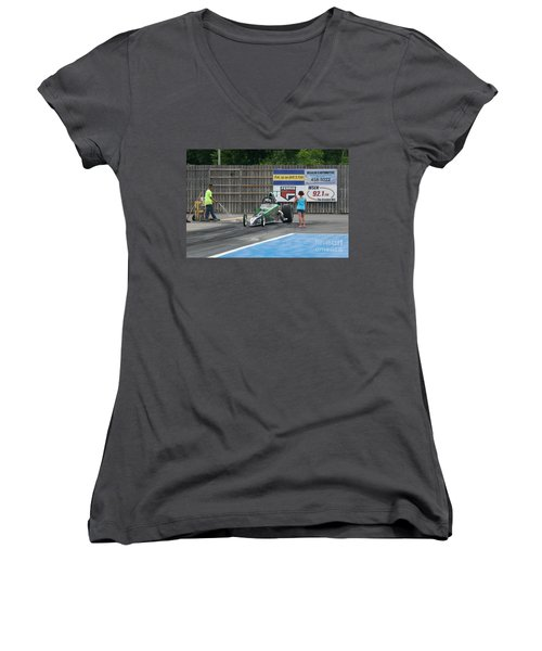 9062 06-15-2015 Esta Safety Park Women's V-Neck (Athletic Fit)
