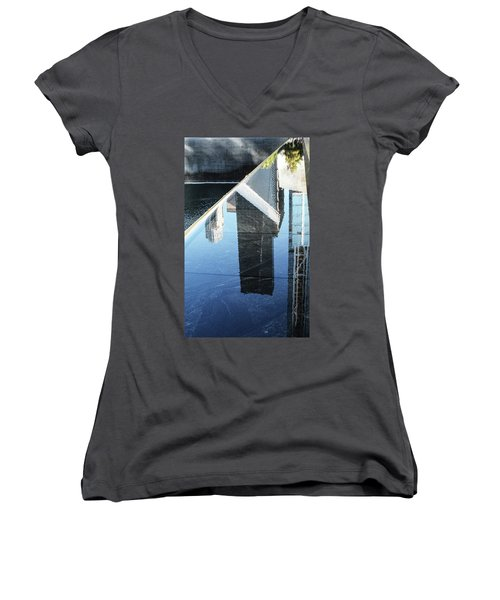 911 Memorial Pool 2016-4 Women's V-Neck (Athletic Fit)