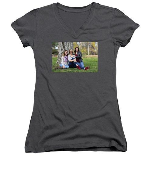 9g5a9713_pp Women's V-Neck T-Shirt (Junior Cut) by Sylvia Thornton