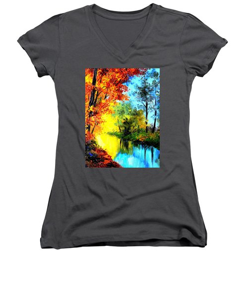 A Beautiful Day Women's V-Neck