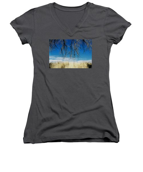 A Comfortable Place Women's V-Neck (Athletic Fit)