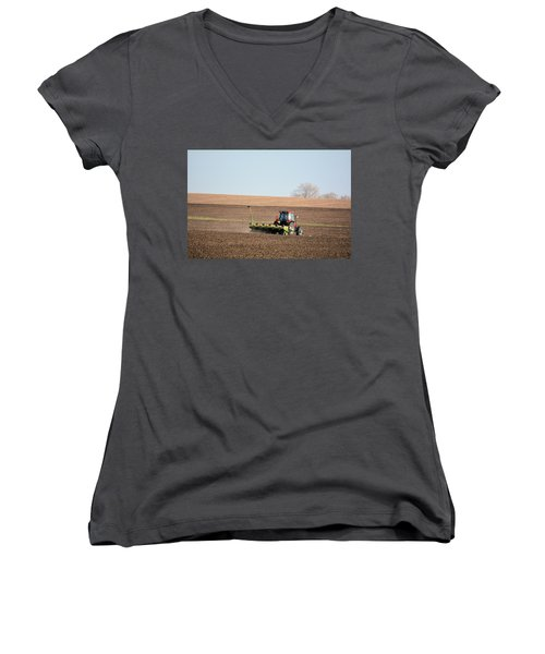 A Farmers Life Women's V-Neck (Athletic Fit)