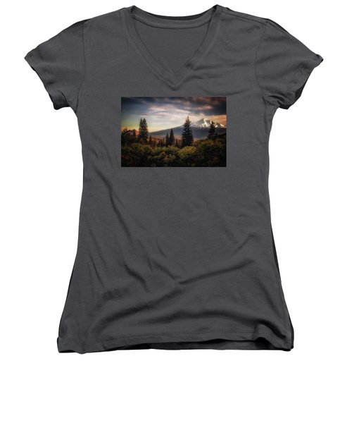 A Favorite View Women's V-Neck (Athletic Fit)