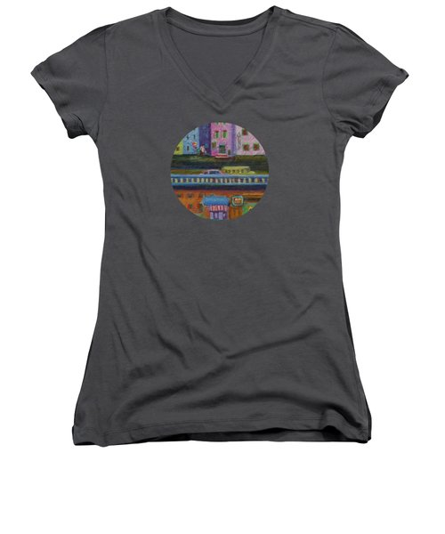 A Fine Day For Balloons Women's V-Neck