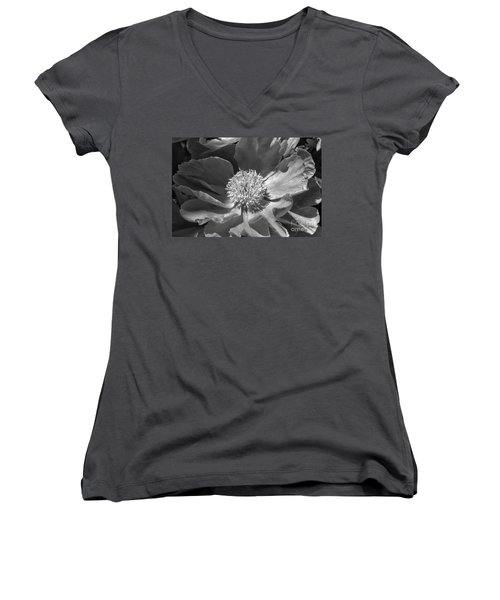 A Flower Of The Heart Women's V-Neck (Athletic Fit)