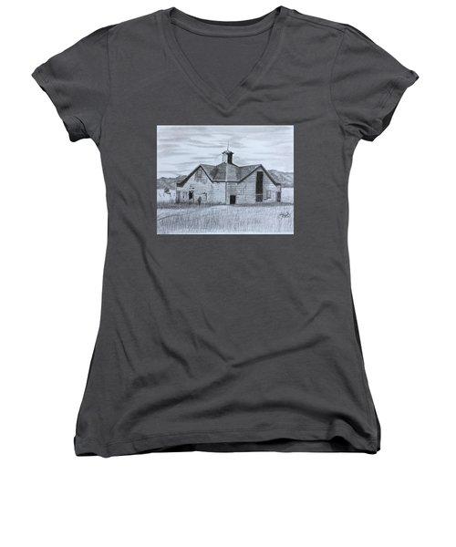 A Forgotten Past Women's V-Neck T-Shirt