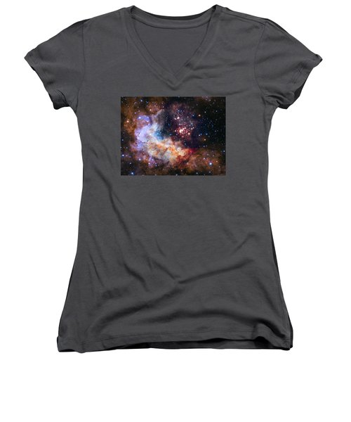 a giant cluster of about 3,000 stars called Westerlund Women's V-Neck