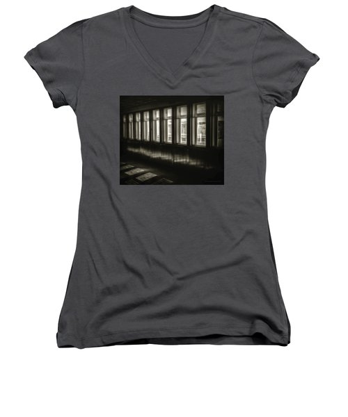 A Glimps From The Dark Women's V-Neck