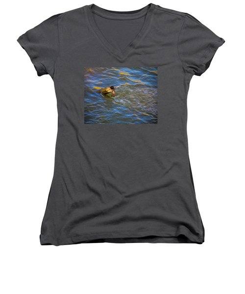 A Good Try Women's V-Neck T-Shirt