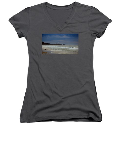 A Guiding Light Women's V-Neck T-Shirt