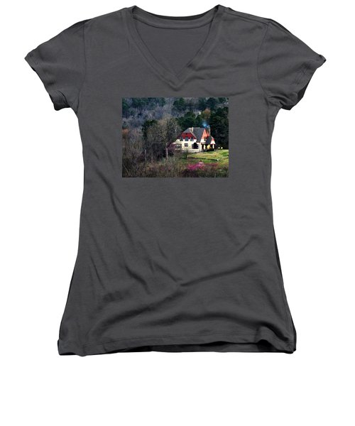 A Home In The Country Women's V-Neck