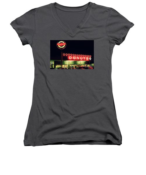 A Light In The Darkness Women's V-Neck T-Shirt