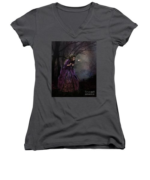 A Little Bird Told Me Women's V-Neck (Athletic Fit)