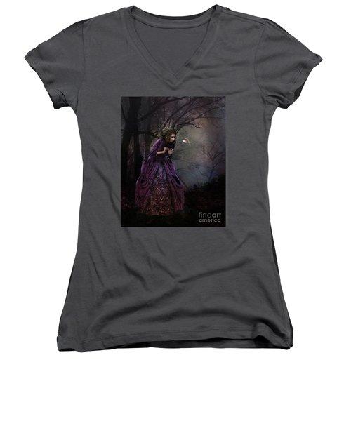A Little Bird Told Me Women's V-Neck T-Shirt