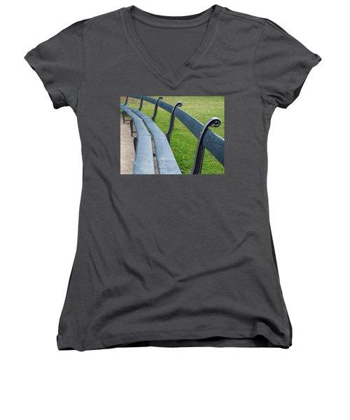A Long Sit Down Women's V-Neck T-Shirt