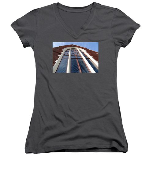 A Long View Women's V-Neck T-Shirt