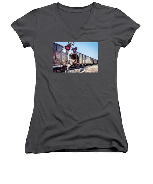A Long Wait Women's V-Neck