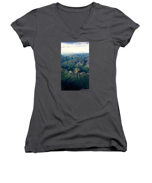 A Look Below Women's V-Neck T-Shirt