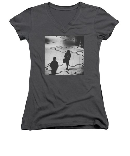 A Love Story That Was Meant To Be Women's V-Neck T-Shirt