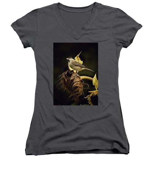 A Mouthful Women's V-Neck T-Shirt