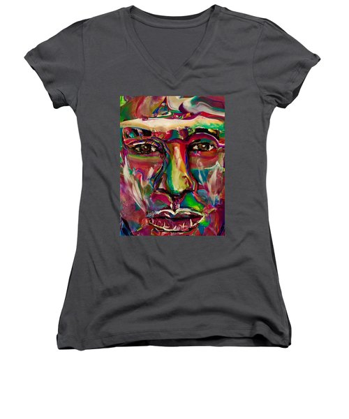 A New Man Women's V-Neck T-Shirt