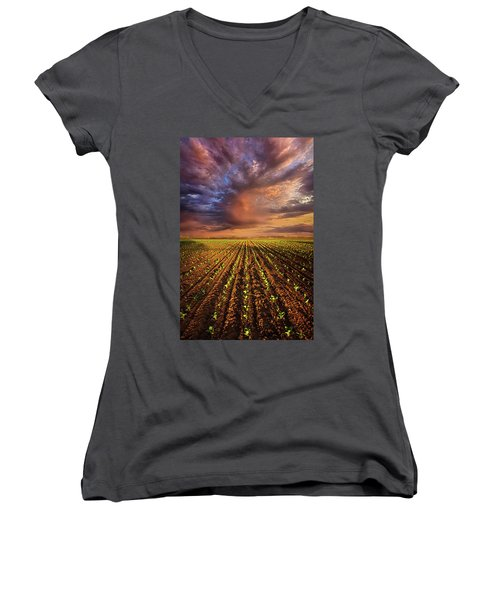 A New Season Women's V-Neck