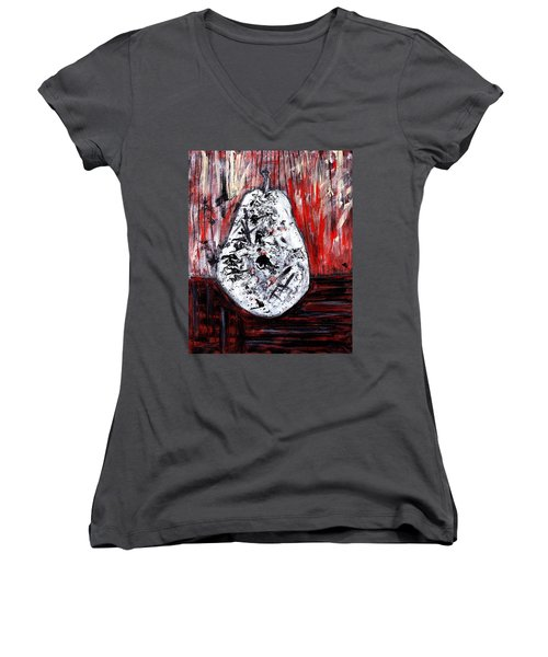 A Pear-antly Women's V-Neck (Athletic Fit)