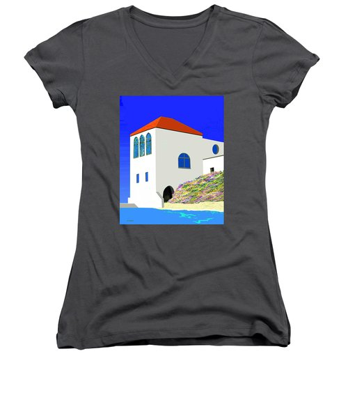 A Private Beach Women's V-Neck (Athletic Fit)