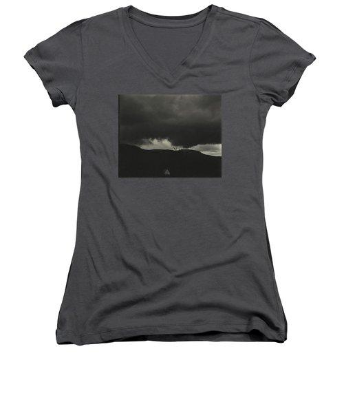 A Sequence Of Ten Cloud Photographs Women's V-Neck