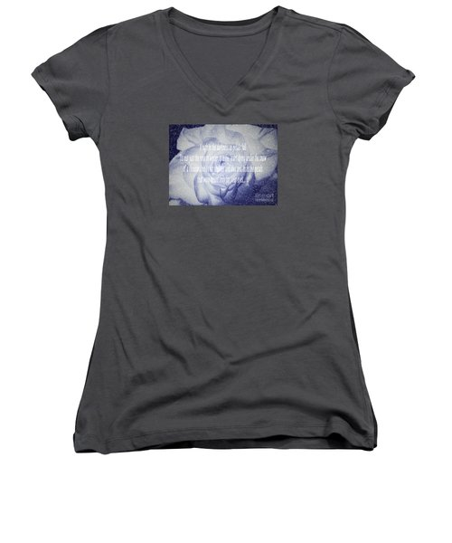 A Sigh In The Darkness Women's V-Neck T-Shirt