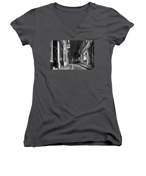 A Step Back In Time Women's V-Neck (Athletic Fit)