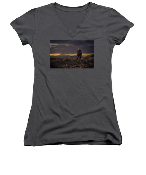 A Storms Brewing Women's V-Neck