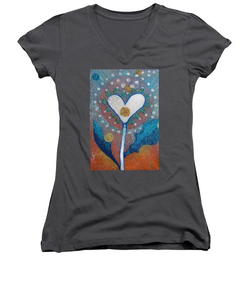 A Type Of Dandelion Women's V-Neck (Athletic Fit)
