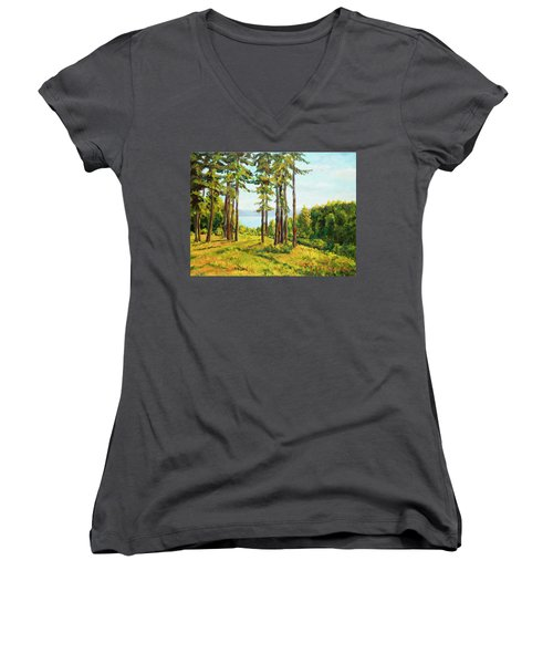A View To The Lake Women's V-Neck