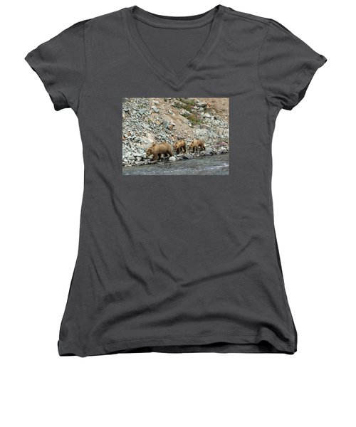 A Walk On The Wild Side Women's V-Neck (Athletic Fit)
