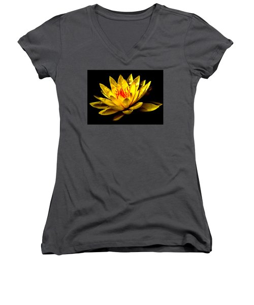 A Water Lily Women's V-Neck