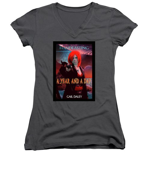 A Year And A Day Women's V-Neck T-Shirt (Junior Cut)