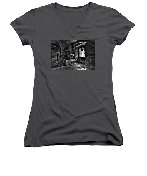 Abandoned Kitchen Women's V-Neck T-Shirt